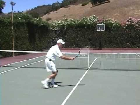 Tennis Tip by Brent Abel - The Tennis Volley 1st Reaction ...