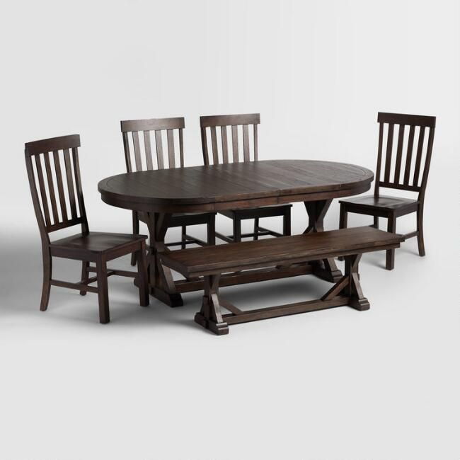 Rustic Brown Brooklynn Dining Collection V1 This