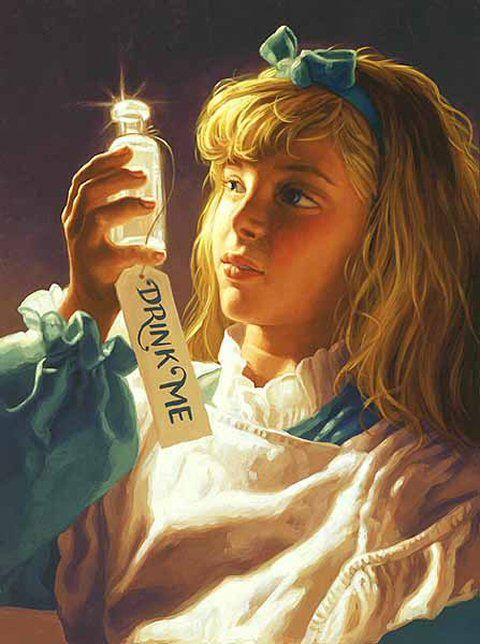 ALICE IN WONDERLAND BY GREG HILDEBRANDT