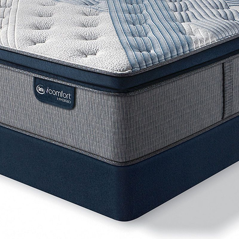 Serta Icomfort Blue Fusion 1000 Firm Pillowtop Mattress Box Spring Mattress Box Springs Mattress Pillow Top Mattress