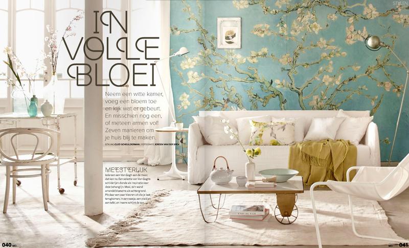 Van Gogh Behang : Van gogh behang amandelbloesem google zoeken inspiratie nieuwe