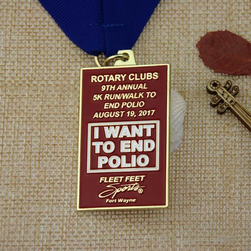 he soft enamel custom medals are for the group of brave