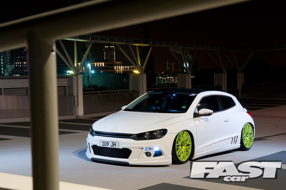 Stanced VW Scirocco | Fast Car Magazine | cars, all makes and models