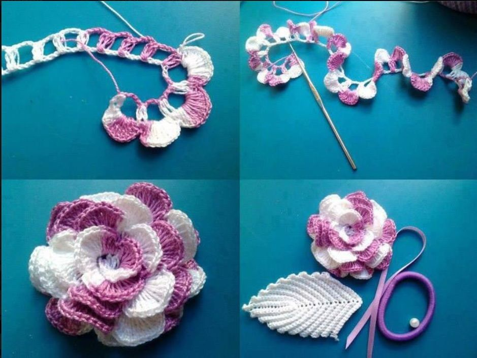 Very nice and easy way of making a flower