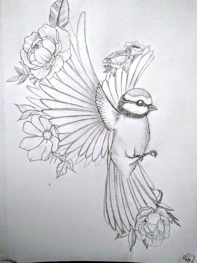 Blume Und Spatz Im Flug Zeichnen Bleistift Kunstzeichnungen Vogel Skizze Zeichnung Zeichnen ideen einfach fuer kinder. blume und spatz im flug zeichnen