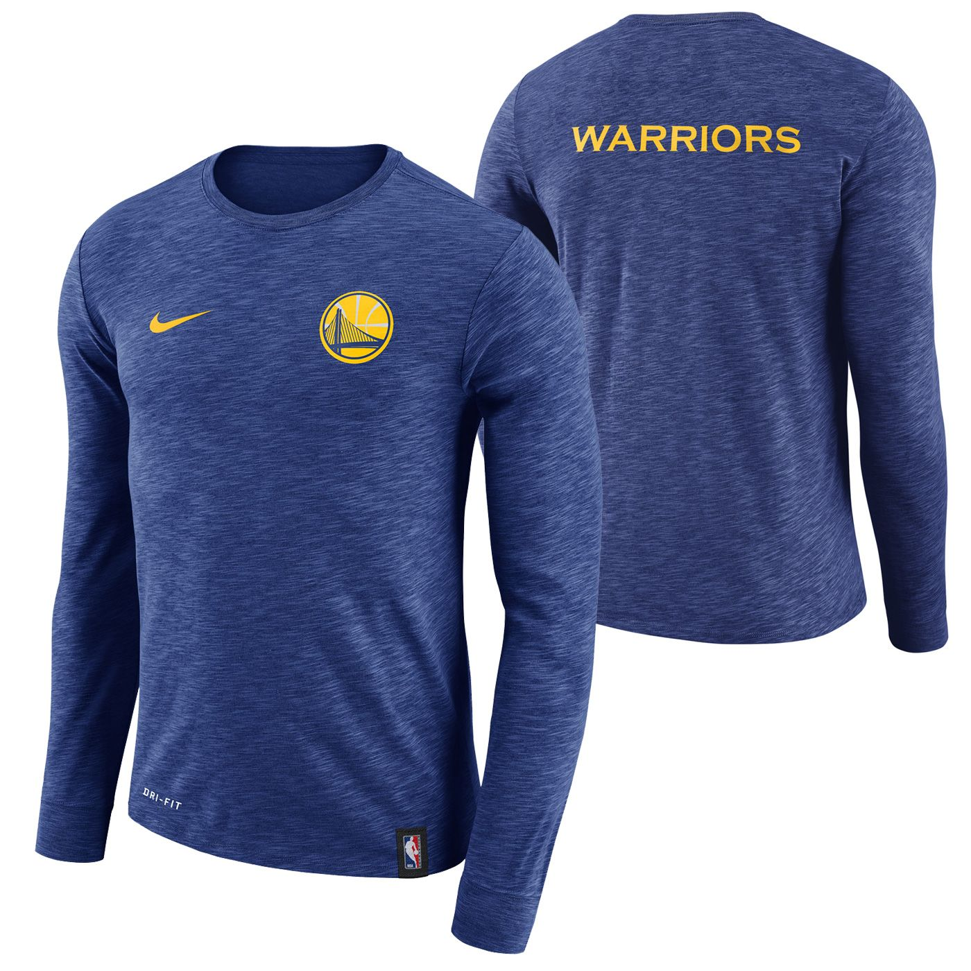sports shoes e4122 ddfa2 Golden State Warriors Nike Men's Primary Logo Short Sleeve ...