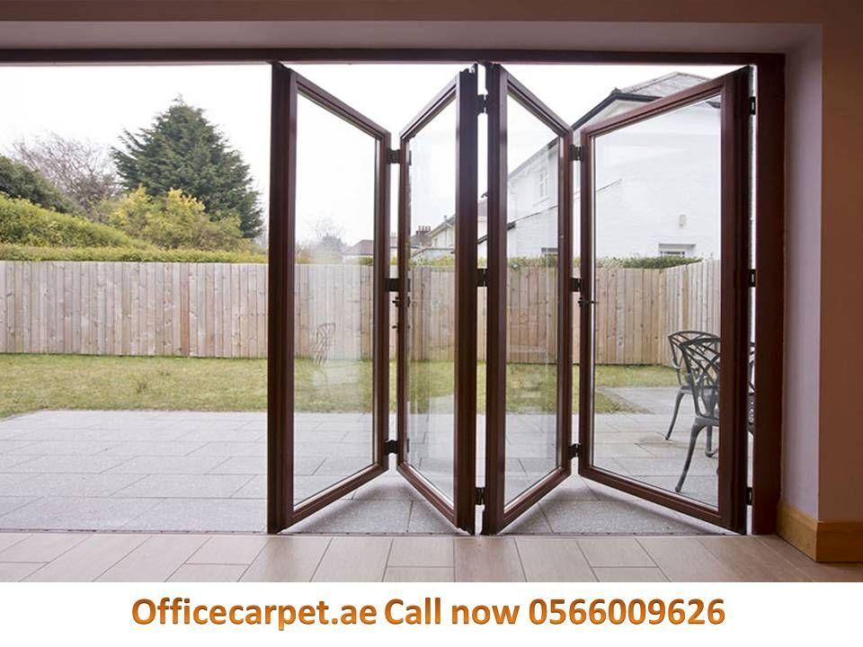 Pvc Folding Doors Dubai In 2020 Exterior Doors Door Design Interior Folding Doors