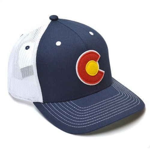 The Navy Local Hero Appliqué C Trucker Hat