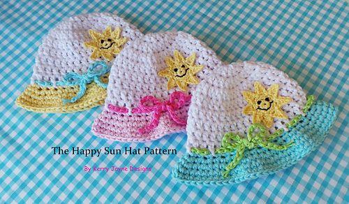 Ravelry: Happy Sun Hat pattern by Kerry Jayne Designs