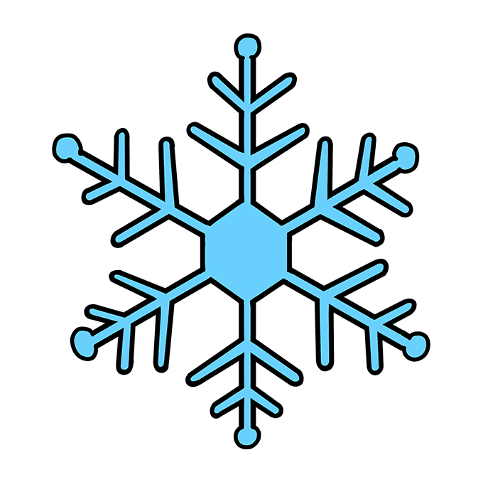 How To Draw A Snowflake Really Easy Drawing Tutorial Drawing Tutorial Easy Drawing Tutorial Easy Drawings