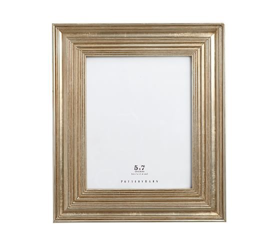 Eliza Gilt Single Opening Frames Champagne In 2020 Pottery Barn Picture Frames Frame Gallery Frames