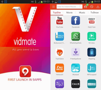 Vidmate for PC, Laptop Free Download And Install Video