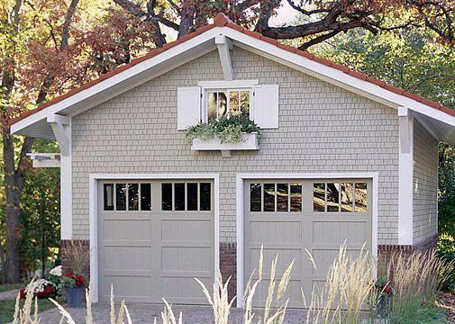 Clopay Reserve Collection semi-custom carriage house doors painted - peinture de porte de garage