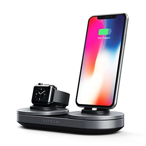more photos 8d7b7 38d9e Charging Station Dock - Compatible with iPhone Xs Max/XS/XR/X in ...