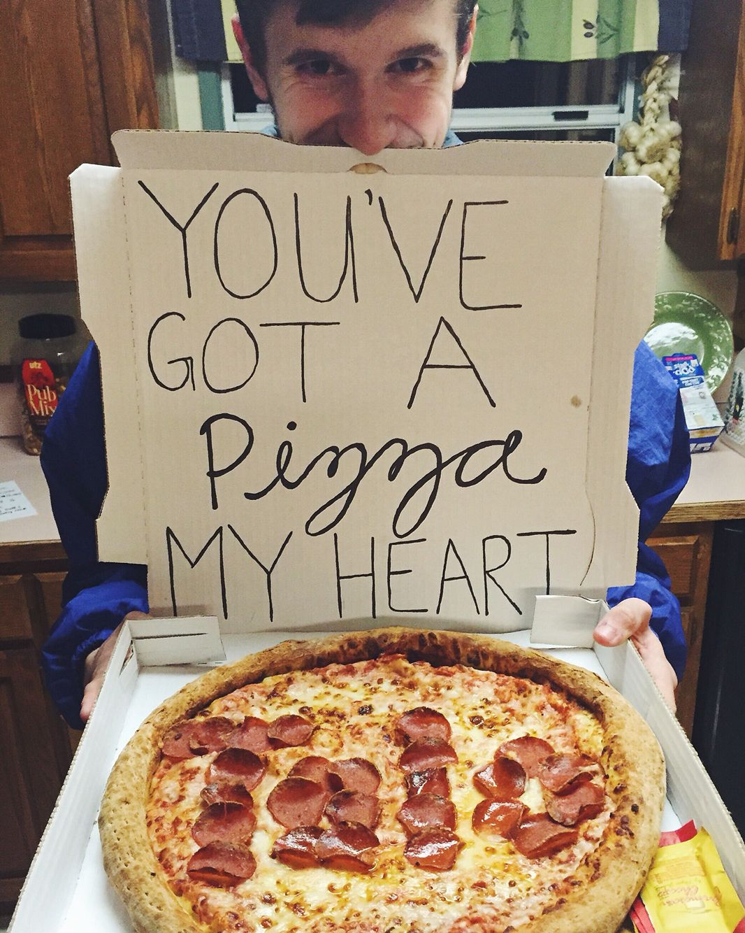 Pizza Tolo Proposal Asking Cheesy Food In 2019 Prom Proposal