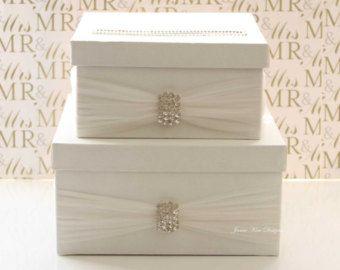 Wedding Card Box Gift Money Holder By Jamiekimdesigns