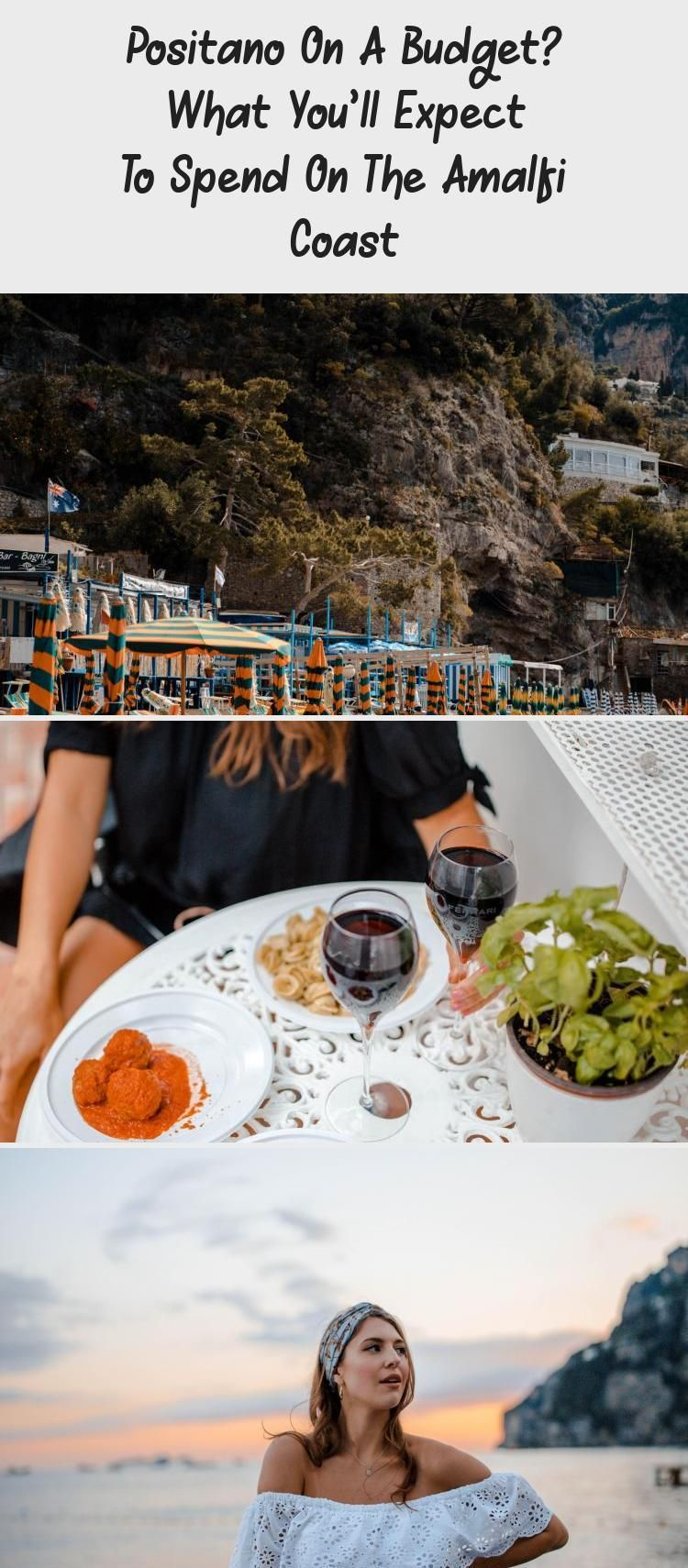Positano On A Budget What Youll Expect To Spend On The Amalfi Coast  Travel Positano On A Budget What Youll Expect To Spend On The Amalfi Coast  TravelTravel Photography...