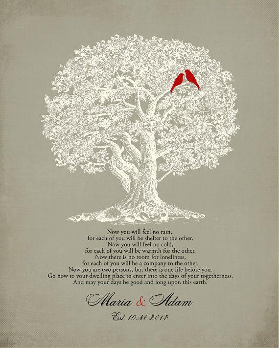 The NAVAJO WEDDING BLESSING Poem Print By WordsWorkPrints