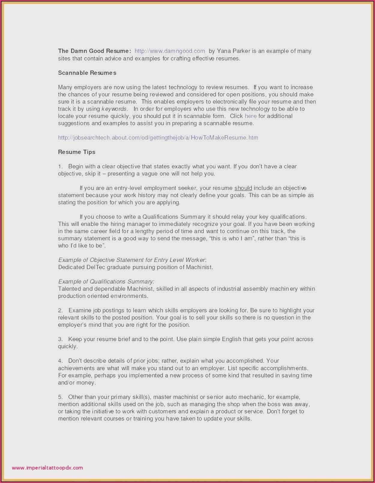 Warehouse Job Description for Resume Fresh Resume Profile