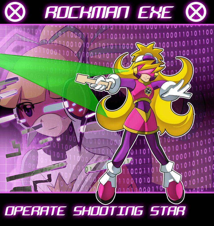 megaman battle network operation shooting star