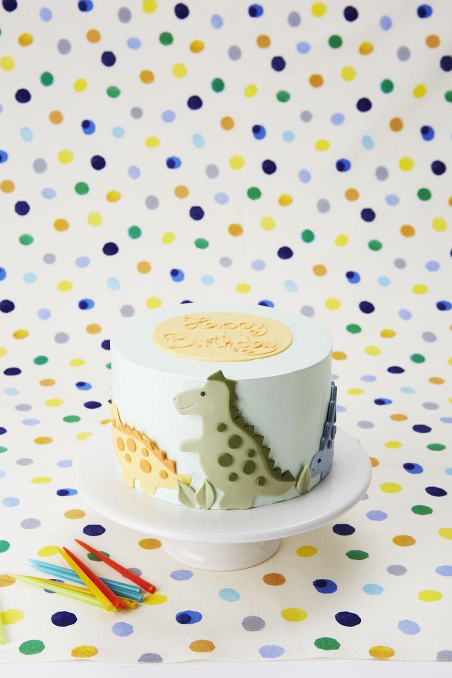 Dinosaur Birthday Cake by Peggy Porschen. New Collection, Order online www.peggyporschen.com