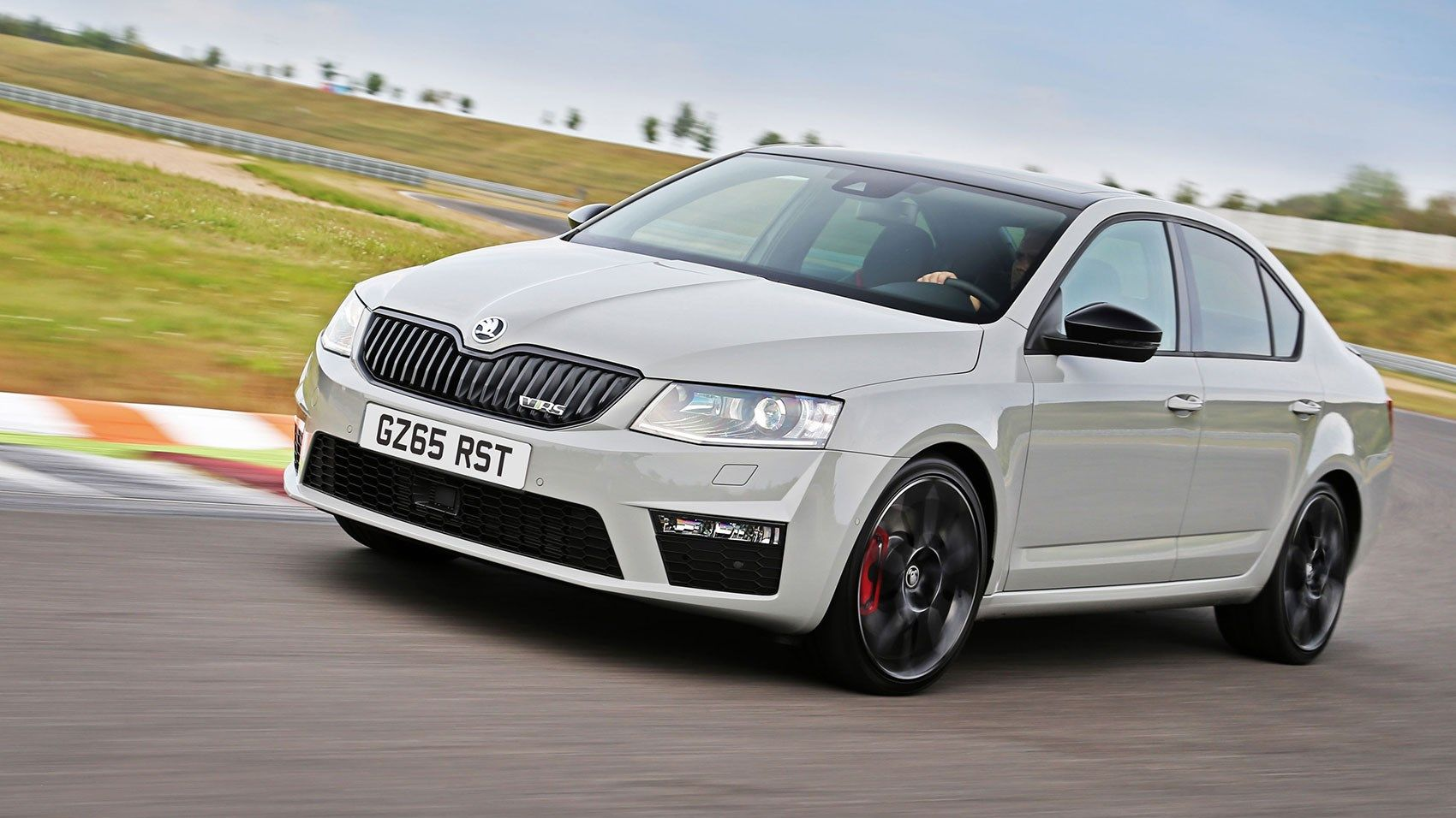octavia vrs steel grey Skoda cars Pinterest