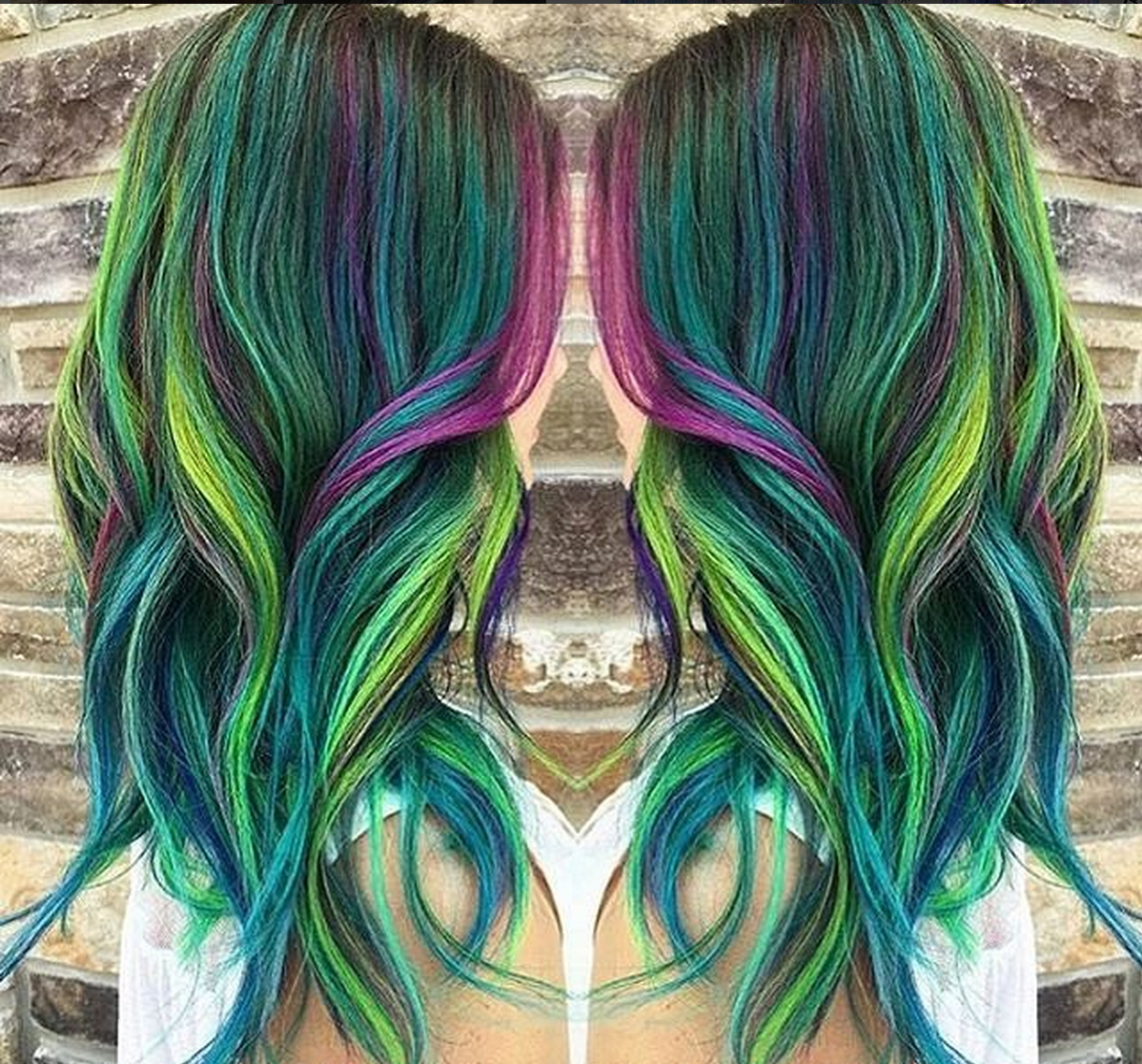 Art color hair - Peacock Hair Color Trend Is Gorgeous And Captivating Bold And Bright