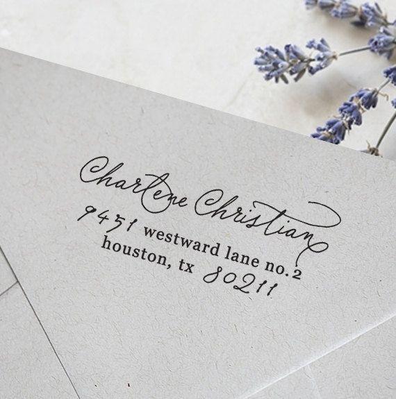 Self Inking Stamp Custom Address