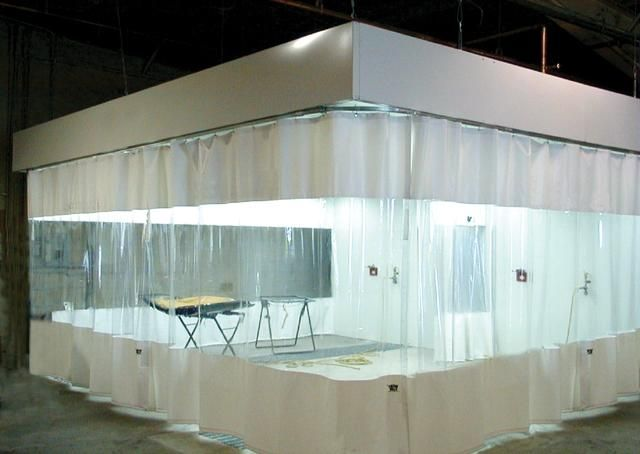 Industrial Curtain Walls Industrial Curtains Plastic Curtains