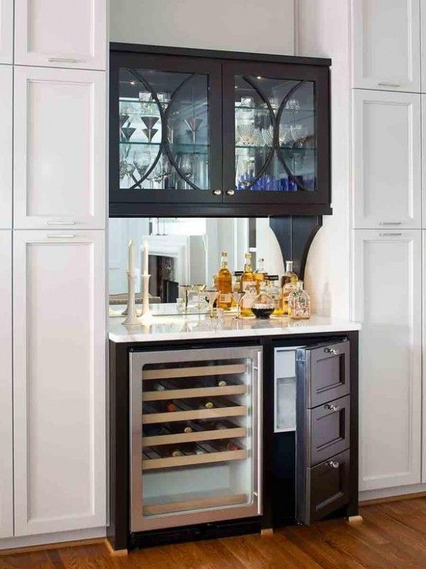 Bar Cabinet With Wine Fridge Foter Small Bars For Home White
