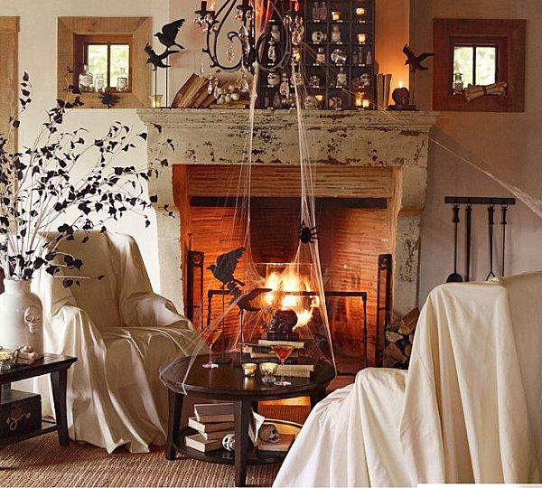40 Spooky Halloween Decorating Ideas for Your Stylish Home Spooky - decorate house for halloween