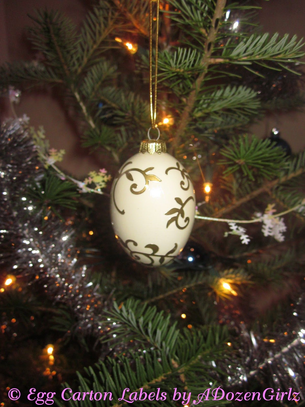 Chicken christmas ornaments - The Chicken Chick Christmas Ornaments Made From Blown Eggs Why Didn T I