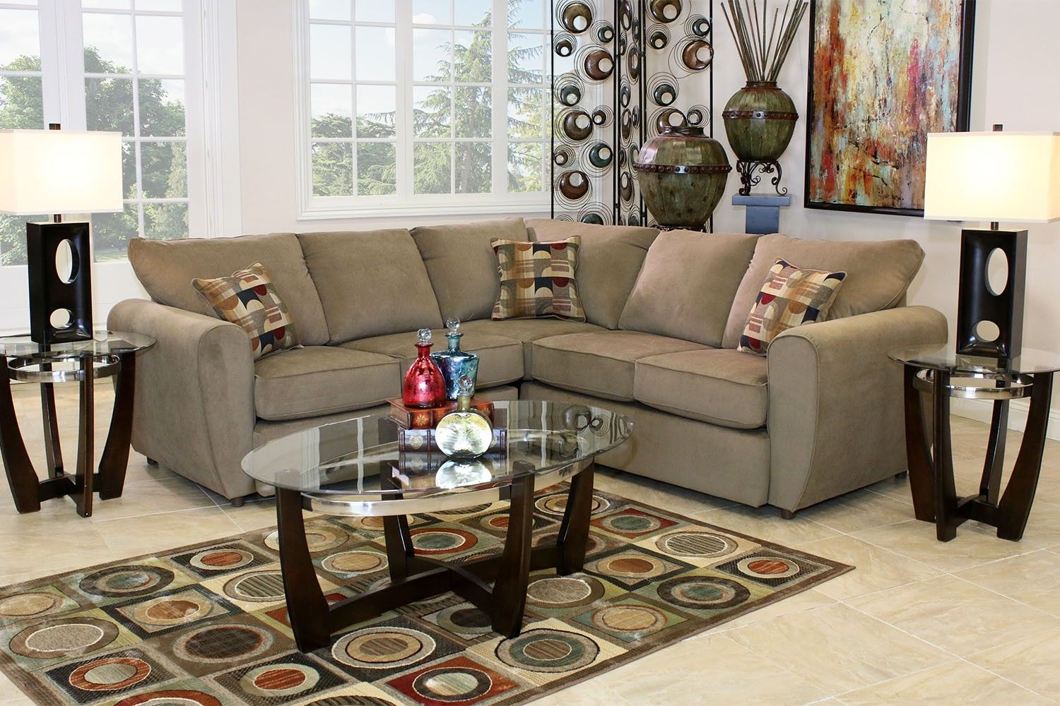 top hat sectional living room in cafe living room mor furniture for less