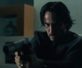 John Wick Clip: Keanu Reeves Battles Intruders
