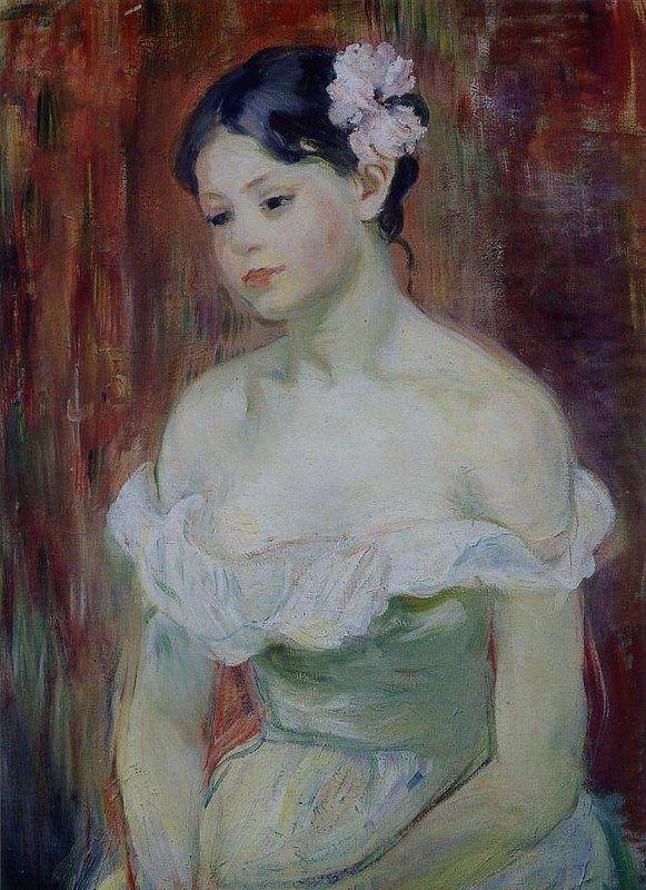 Berthe Morisot, Marthe la fleur aux cheveux (1893)