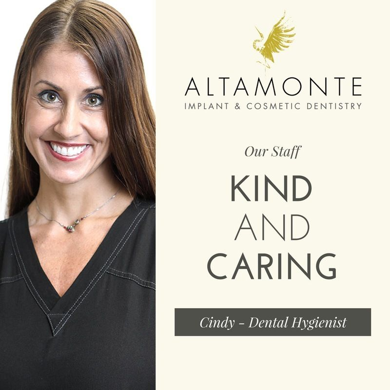 We are proud to have an amazing staff helping us daily Cindy is a