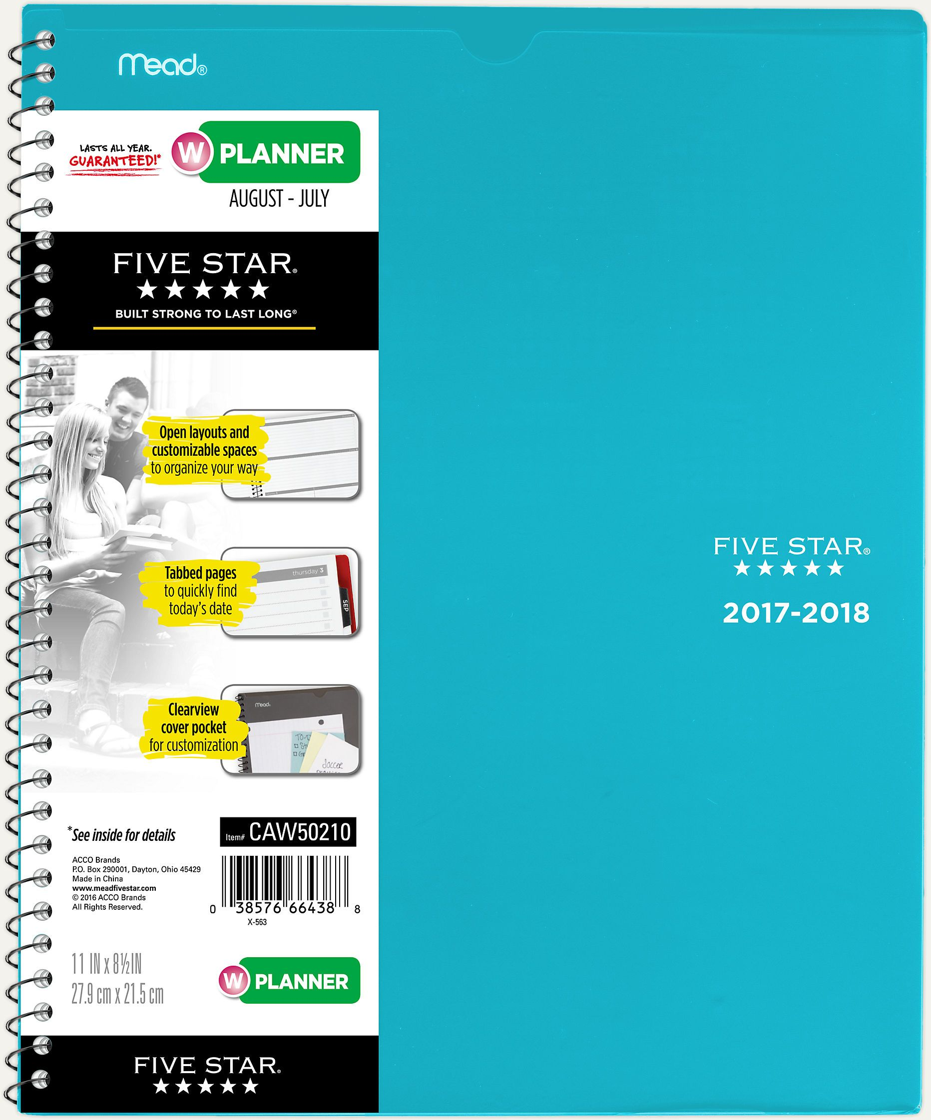weekly monthly student planner