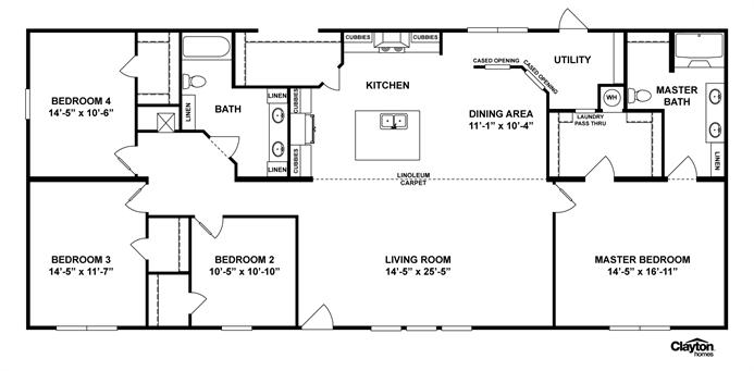Interactive Floorplan M165 Terminator Iv 32x70 76trm32704ah Barn House Plans Modular Home Plans Floor Plans
