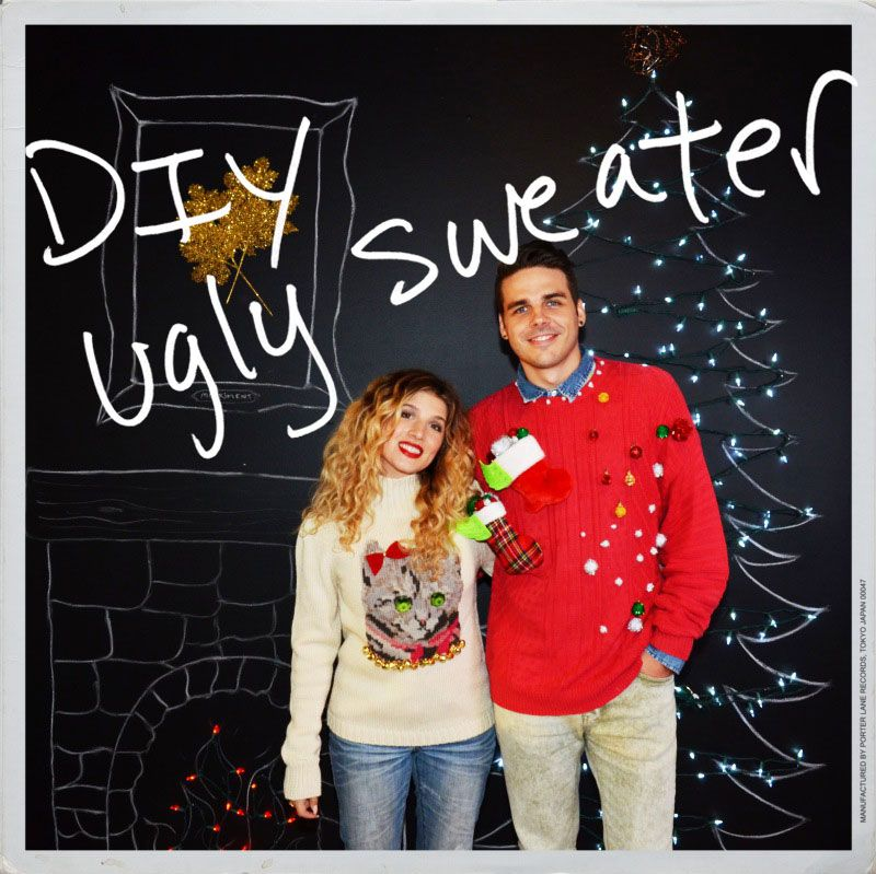 Good Couples Christmas Party Ideas Part - 13: 50 Ugly Christmas Sweater Party Ideas - Oh My Creative