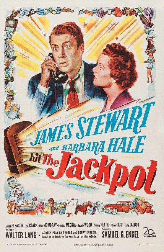 0 Hit The Jackpot 1950 - James Stewart on the phone & Barbara hale