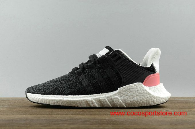 Adidas EQT SUPPORT 93 17 Boost Black Bright Red Running Shoes BB1234 For  Women  90 2715782e23