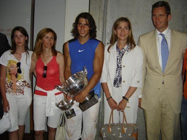 Nadal Family Tennis Champion Rafa Nadal Tennis Players
