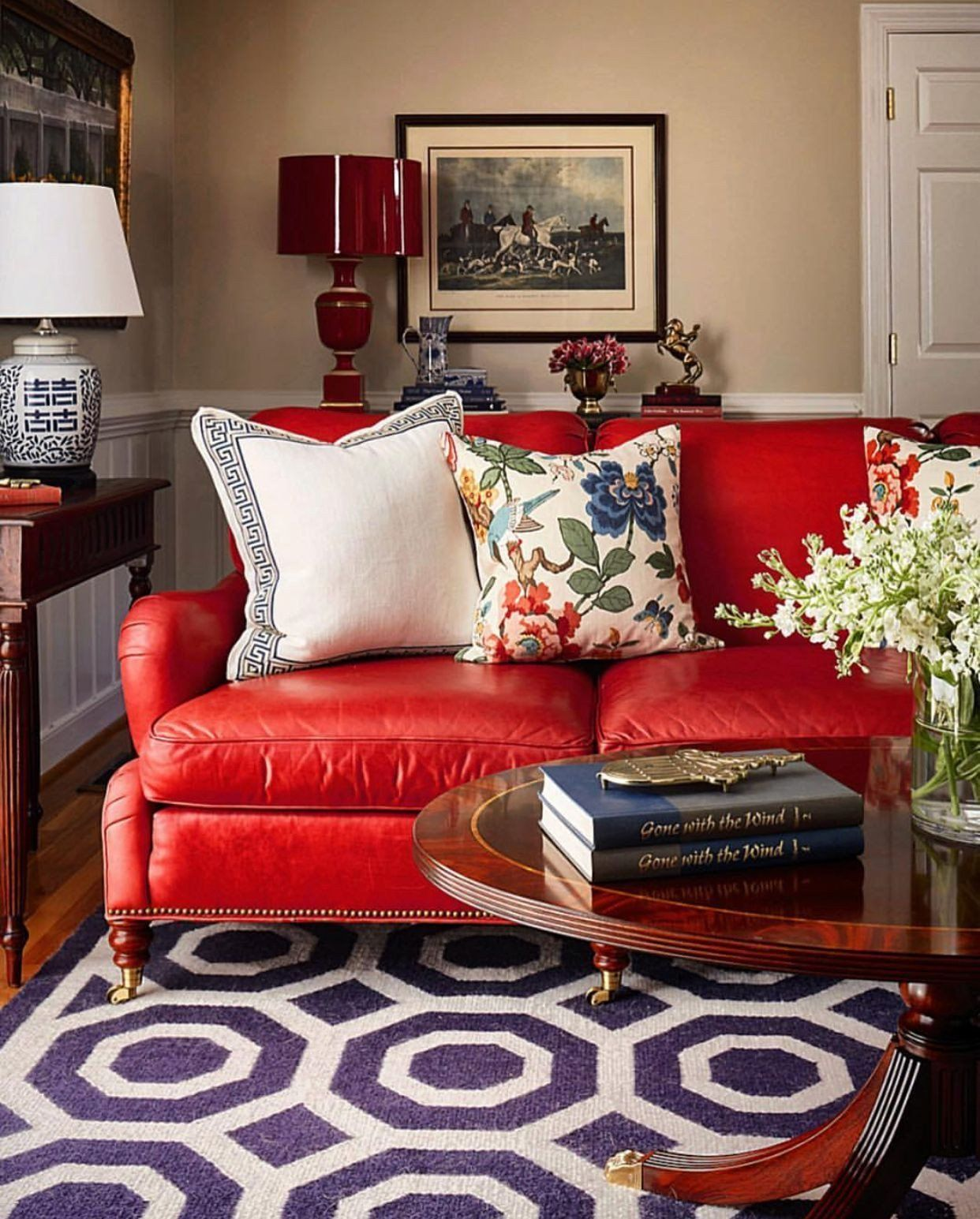 Red Leather Sofa Living Room Idea Pin By Melody Mehrabi On Home Decoration With Images Red Sofa Living Room Red Couch Living Room Red Leather Couch Living Room