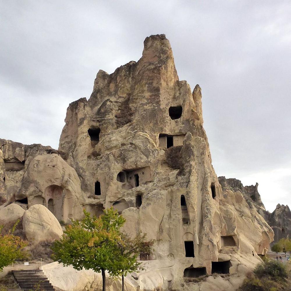 Göreme Valley Open Air Museum in Cappadocia Asie