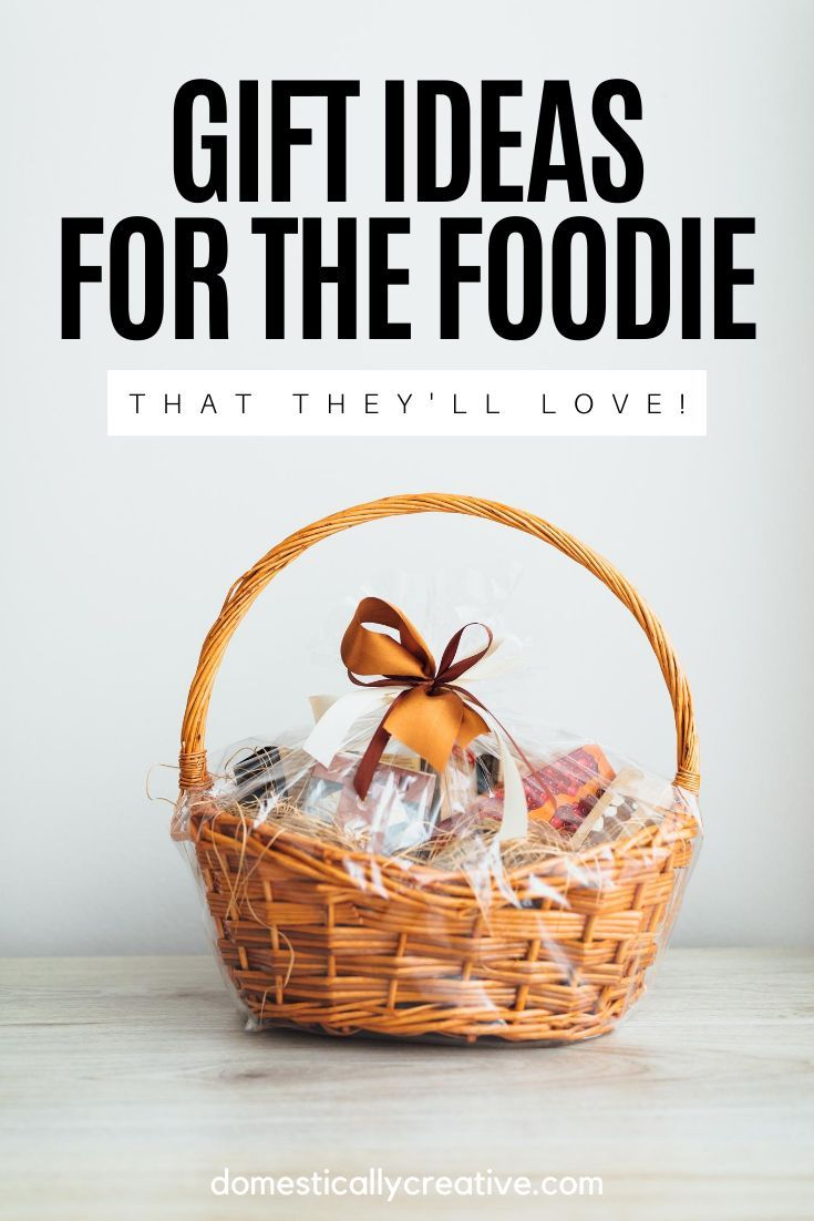 Have a foodie on your Christmas gift list and need some ideas? Check out this awesome list of gift ideas for the foodie in your life, that they will actually love. #domesticallycreative #foodie #giftguide #giftidea #foodiegiftidea