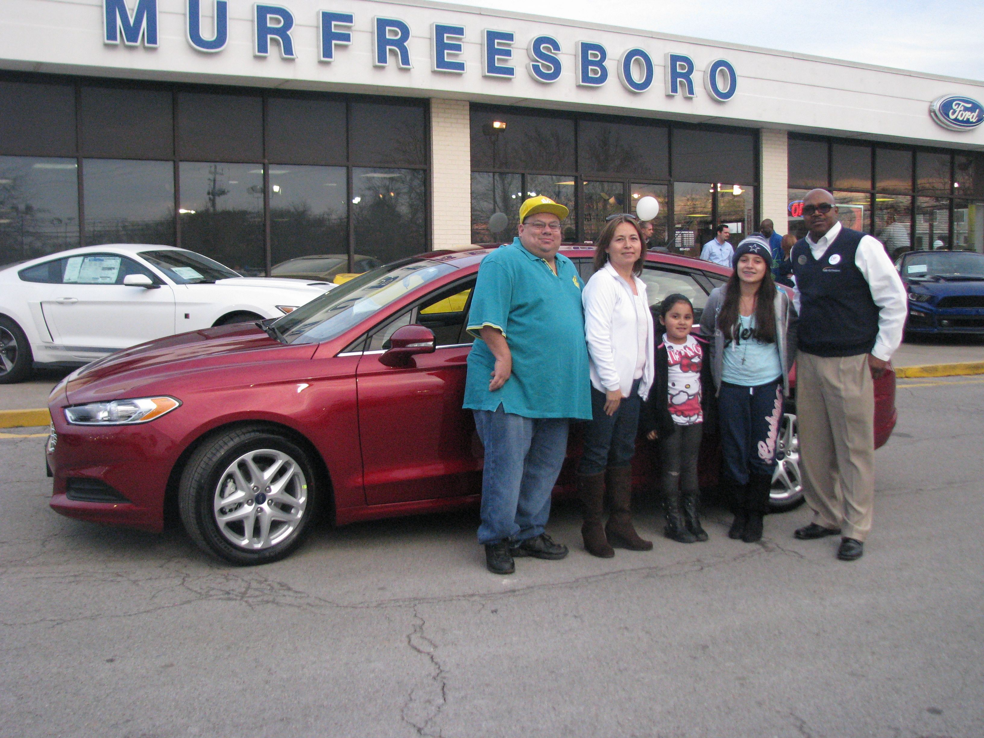 Another happy family left our lot this weekend in a new car Here is