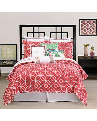 Bedding Sales Trina Turk Bedding Coral Comforter Set Coral Bedding