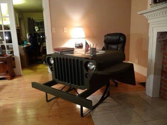 jeep desk..