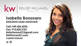 Keller Williams Business Cards KWWHTPHOTO With New Logo - Keller williams business card templates