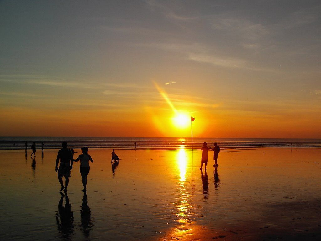 Legian Beach Sunset